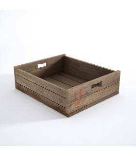 Atelier K 工坊系列圖紋淺置物木箱