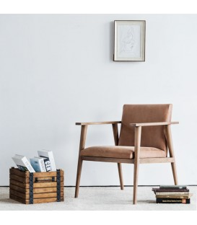 Vintage 斯堪地經典植鞣皮革休閒椅