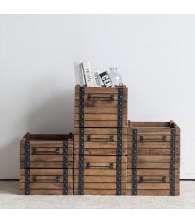 Dolly 深置物木箱