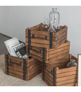 Dolly 淺置物木箱
