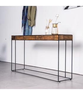 Mondrian 風格派幾何玄關桌