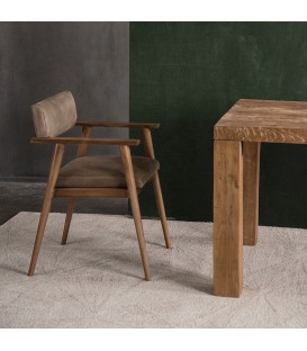 Vintage 斯堪地經典植鞣皮革扶手椅