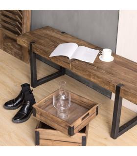 Celebes 原始風格穿鞋凳