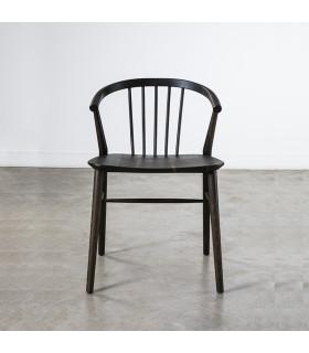 Saba 黑檀色橡木座椅