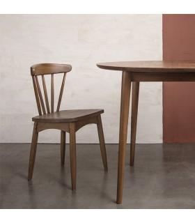 Twist 斯堪地雅趣餐椅 - 老柚木