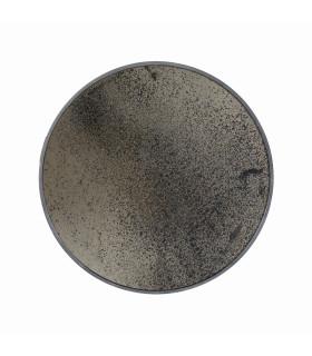 古老年代茶色鏡面圓鏡
