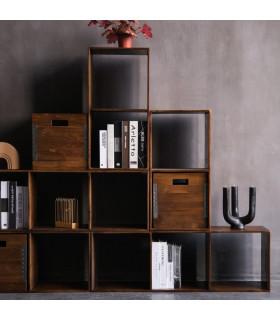 Home Solutions 金屬鉚邊穿透式儲物櫃