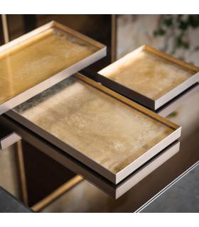 Gold Leaf 金屬置物盤