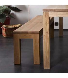 Straight 柚木長凳