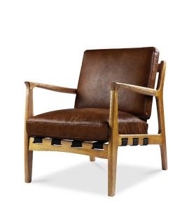 At Ease 扶手皮革椅