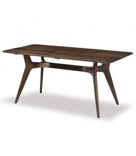 Kiri 焦燻橡木餐桌