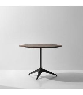 Compass 栗黑橡木圓桌