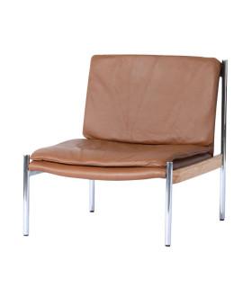Lincoln 皮革休閒椅
