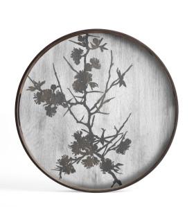 Blossom 漂流木托盤