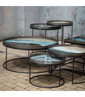 Round 圓形子母茶几框架