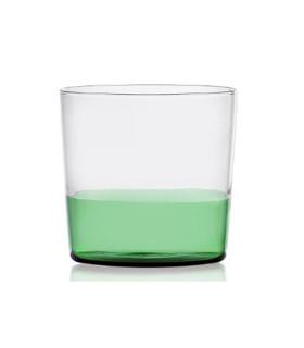 LIGHT 多彩水杯-草綠/透明