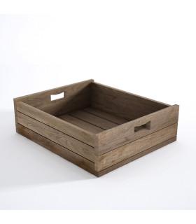 Atelier K 工坊系列淺置物木箱