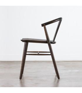Saba 焦燻橡木座椅